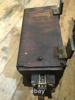 Bobine D'allumage Originale De Voiture En Laiton 1910-20 Pour Les Pièces/restauration Oem Auto
