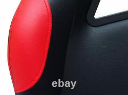 Cadeau De Siège De Seau De Chaise De Chaise De Simulateur De Jeu De Voiture Pour Ps5 Xbox Black Red