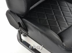 Car Gaming Racing Sim Frame Chair Bucket Seat Frame Ps4 Xbox Faux Cuir Noir