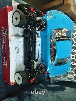 Carbon 3racing 2k18 Évolution Vintage Tamiya Rc Kit De Châssis De Voiture Rc Touring