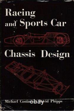 Conception De Châssis De Voiture De Course Et De Sports (hardcover, Michael Costin 1965)