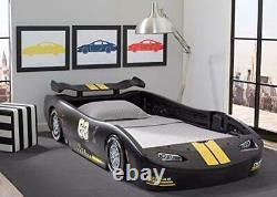Cool Fun Race Car Bed Lit Lit Pour Enfant Tout-petit Twin Frame Cama Para Niñ