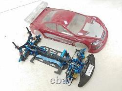 Cso Racing Aluminium 1/10 4wd Carbon Fiber Touring Car Roller Slider Chassis Used