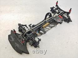 Destiny Racing 1/10 4wd Touring Car Roller Slider Chassis Fibre De Carbone Aluminium