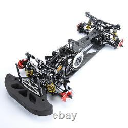Electric Rc 1/10 Modèle Drift Racing Car 4wd Body Frame Chassis G4 Alloy&carbon