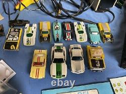 Énorme Lot Vtg Aurora Ho Afx Tyco Sizzlers Slot Car Chassis Track Race Car Parts