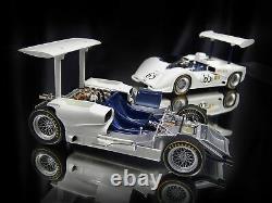 Exoto New 118 1966 Chaparral 2e Voiture De Course Chevy P Hill (avec Châssis Roulantbonus)
