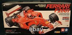 Ferrari F2001 4wd F201modèle De Châssis 58288 Tameya 1/10 Rc