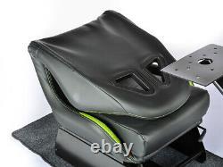 Gaming Car Racing Simulator Cadre Chaise Bucket Cadre Du Siège Noir Vert Ps5 Xbox