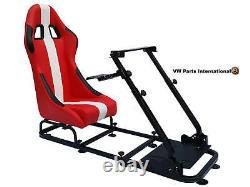 Gaming Car Racing Simulator Cadre Président Bucket Seat Cadeau Pour Ps5 Xbox Jeux