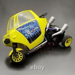 Gl Racing Gl-rider 118 2wd Rider Trike Chassis Kit Withmotor Esc #gl-rider-kset