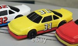 Ho Slot Car Iroc Racing Set Viper Chassis With Life Like Gen 2 Stocker Bodies