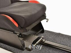 Jeu Volant De Voiture De Course Cadre Chaise Bucket Seat Noir Rouge Pour Xbox Ps5