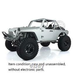 Jkmax Kit Capo 1/8 Rc Racing Car Rock Crawler Kit Châssis En Métal Unassembled