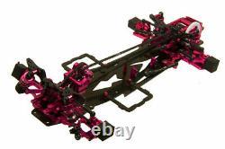 Kit De Cadre De Corps En Alliage Et Carbone Pour Sakura D3 Cs 1/10 4wd Drift Racing Car