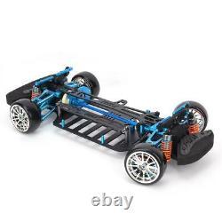 Kit De Cadre En Fibre De Carbone En Alliage G4 Pour 110 Tt01 / Tt-01 Rc 4×4 Sur Route Racing Car