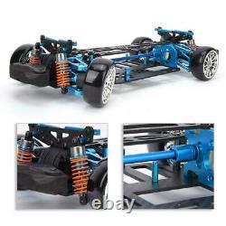 Kit De Cadre En Fibre De Carbone En Alliage G4 Pour 110 Tt01/tt-01 Rc 4×4 Sur Route Racing Cartu