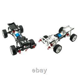 Metal 1/12 Drift Rc Racing Car Frame Châssis Kit Pour Pièces Mnd90 Mn99s