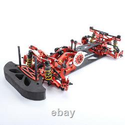 Metal&carbon Rc 110 Drift Racing Car G4 Frame Chassis 4wd Démonter Model Kit