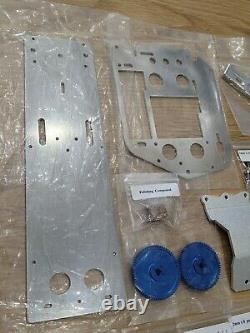 New Aluminium Châssis Gear Viss Upgrade Parts Tamiya 1/10 R/c Fighting Buggy