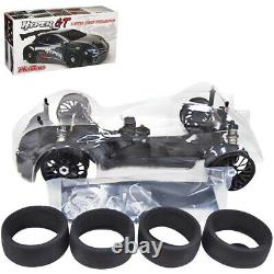 Nouveau Hobao Racing Hb-gtse 1/8 Roller Chassis Hyper Gtb On-road Car Withclear Body