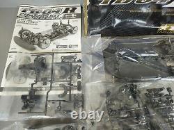 Nouveau Tamiya 1/10 Électrique Rc 4wd Racing Car Tb-04r Châssis Kit Escalier Driven 84412