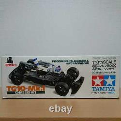 Out Of Print Rare Nouveau Tamiya 110 Moteur Rc 4wd Racing Car Tg10mk. 1 Trousse De Châssis