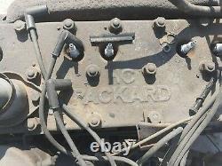Projet De Voiture De Course Vintage, Packard 8 Cylindres, Châssis Rover 1934, Grange Trouver