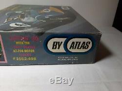 Rare Kit Voiture De Course Slot Lotus 30 Pan Vintage Atlas 1960 Châssis At-708 124