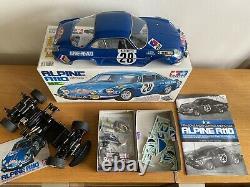 Rare Tameya 58168 1/10 Rc Alpine A110 Racing Car M-02 Châssis