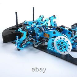 Rc 110 4wd Drift Racing Frame G4 Car Kit 078055b Alliage Et Fibre De Carbone Modèle Du Corps
