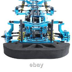 Rc 110 Modèle 078055b 4wd Drift Racing Car G4 Frame Kit Alloy&carbon Fiber Body