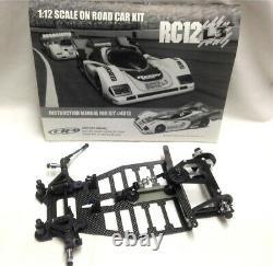 Rc12l3 1/12 Race Chassis Rc Kit De Compétition De Voiture Équipe Associée #4015