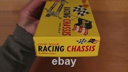 Revell Racing Chassis 1/32 Échelle Aluminium Slot Car Châssis Kit. Nouveau Vieux Stock