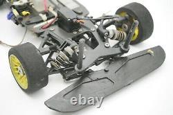 Serpent Nitro 1/8e Échelle 4wd Vintage Rc Race Car Rolling Chassis Ozrc Jl