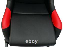Siège De Chaise De Cadre Sim De Jeux De Voitures Pour Le Siège De Godet Pour Xbox Ps5 Noir Cadeau Rouge Noir