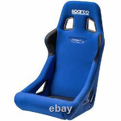Sparco Sprint L Grand Fia Cadre En Acier Approuvé Racing Seau Voiture Seat Bleu
