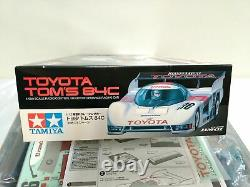 Tameya 1/12 Rc Toyota Tom's 84c Rm-01 Châssis Model Kit 58509 Du Japon