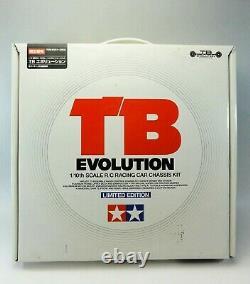 Tameya Tb Evolution 1/10ème Échelle R/c Racing Car Chassis Kit Édition Limitée