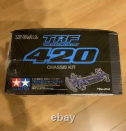 Tameya Trf420 Chassis Kit 1/10ème Barème R/c 4wd Racing Car Nouveau