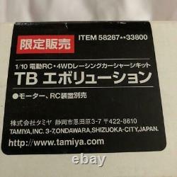 Tamiya 1/10 Électrique Rc 4wd Voiture De Course Châssis Kit Tb Evolution