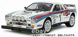 Tamiya 1/10 Rc 4wd Voiture De Course Haute Performance Lancia 037 Rally (châssis Ta02-s)