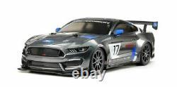 Tamiya 1/10 Rc Ford Mustang Gt4 Race Car Kit, Avec Châssis Tt-02