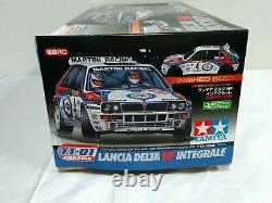 Tamiya 1/10 Rc Lancia Delta Hf Integrale Tt-01 Chassis Model Kit 58342