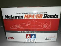 Tamiya 1/10 Rc Mclaren Mp4/5b Honda F104w Châssis Model Kit 84192 Du Japon