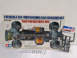 Tamiya 1/10 Rc Ta03f Pro Belt Drive 4wd Racing Car Chassis Kit 58177 Du Japon