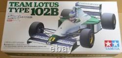 Tamiya 1/10 Rc Team Lotus Type 102b F104w Chassis Model Kit Du Japon
