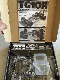 Tamiya 1/10 Rc Tg10r Chassis Kit 4wd Racing Car Model Kit 44032