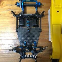 Tamiya 1/12 Échelle R/c 2wd Haute Performance Voiture De Course Rm-01x Kit Châssis Utilisé
