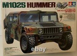 Tamiya 1/12 Rc M1025 Hummer Voiture Hors Route 4wd Ta01 Châssis Model Kit Du Japon